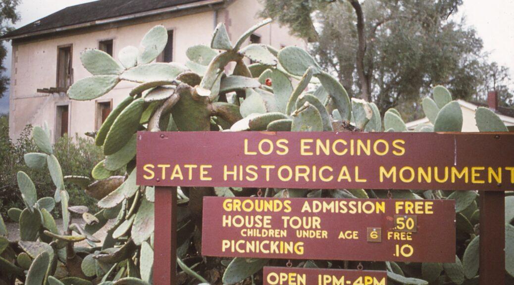 Los Encinos State Historical Park